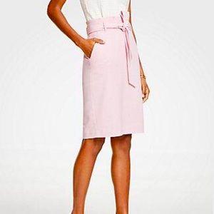 NWT Ann Taylor Tie Waist Pencil Pencil Skirt